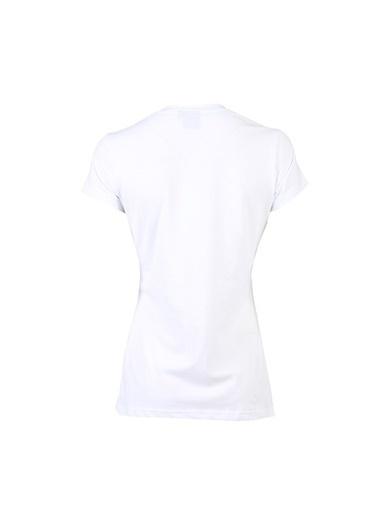 Hummel Bayan Tişört Rebel 910234-9575 Beyaz